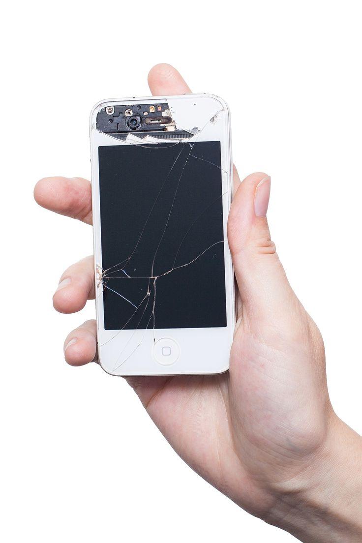 Broken phone screen repair