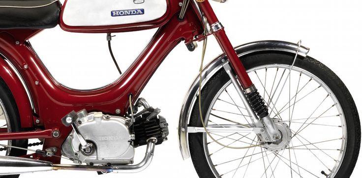 Honda PS50 Sports Moped 4