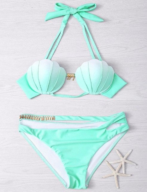 Beautiful Seashell Swimsuit