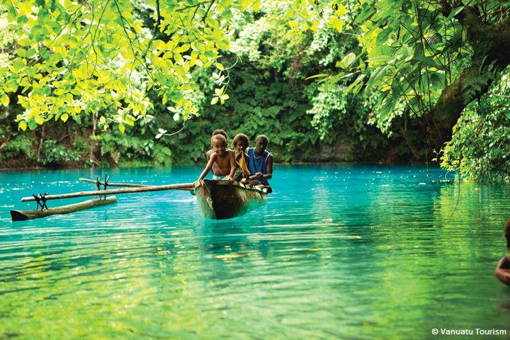 Silver Discoverer destination: Vanuatu.