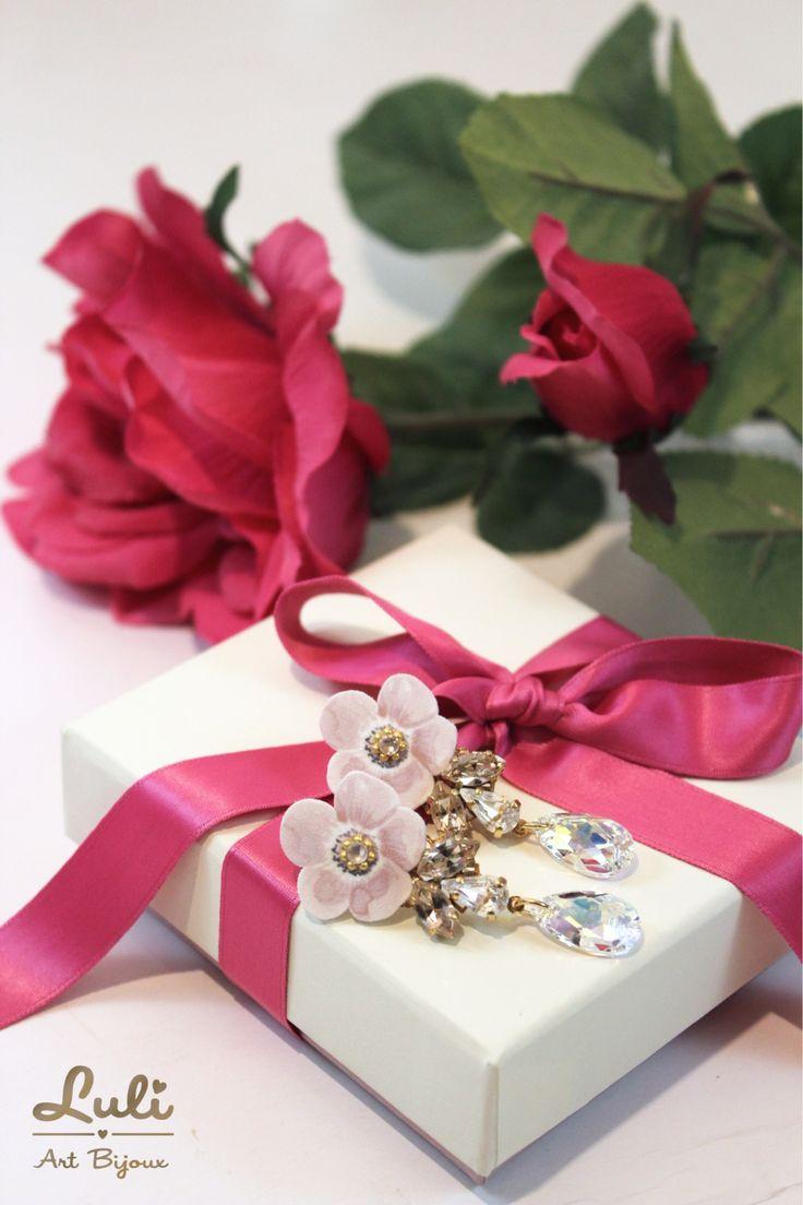 New in - Anemos Preziosa earrings by Luli Art Bijoux - buy online on shop.luliartbijoux.com