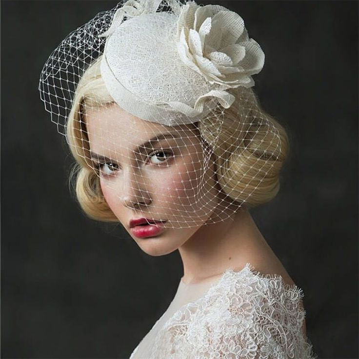 Cheap accessories lathe, Buy Quality accessories photo directly from China accessories ring Suppliers: Vintage Beige Lace Birdcage Veils Wedding Veils 2017 Short voile mariage Bridal Headwear Wedding Accessories velos de novia H36