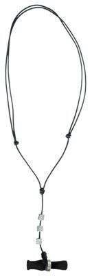 Buck Gardner Calls Wood Duck Call Necklace - Black Pearl