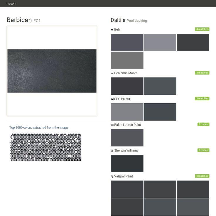 1000 ideias sobre behr deck over colors no pinterest - Benjamin moore swimming pool paint 042 ...