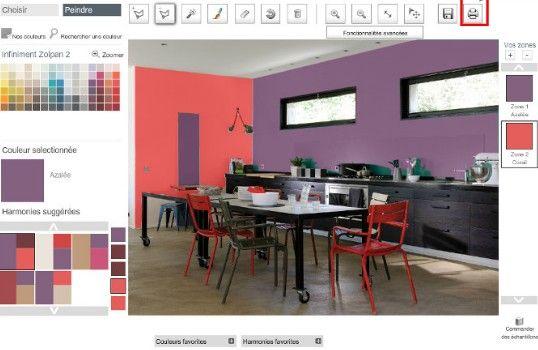 Simulateur deco, Simulateur peinture murale et Simulateur de couleur