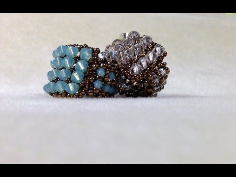 Interlace Band Ring - A Bronzepony Beaded Jewelry Design - YouTube
