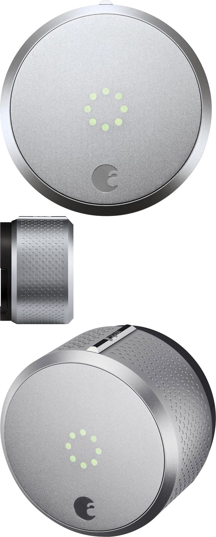 Other Home Security 20589: August - Homekit Bluetooth Deadbolt Retrofit Smart Lock - Silver-New -> BUY IT NOW ONLY: $160 on eBay!
