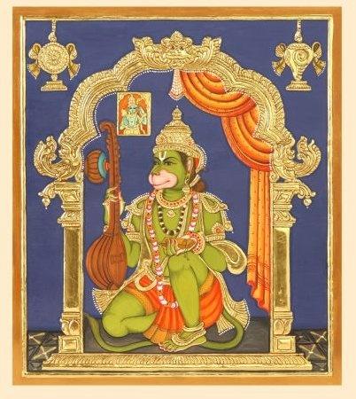 Jai Hanuman Gyan Gun Sagar,  Jai Kapis Tihun Lok Ujagar... Hanuman Tanjore…