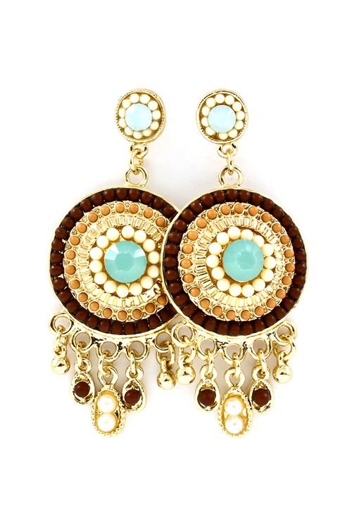 Sabine Chandelier Earrings.