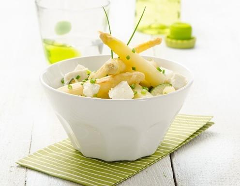 Spargel-Zucchini-Salat auf www.ichkoche.at
