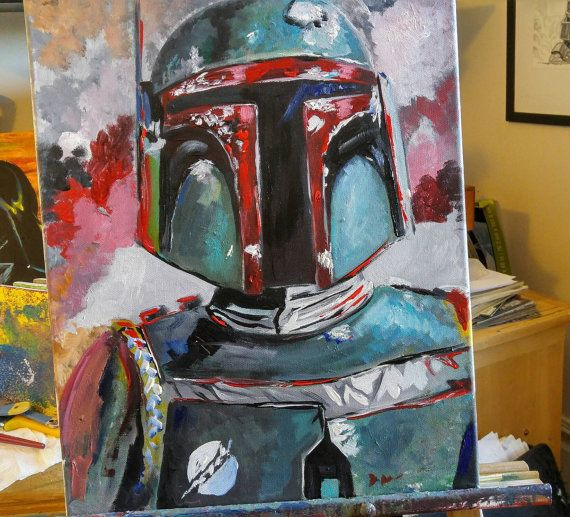 Hey, I found this really awesome Etsy listing at https://www.etsy.com/ca/listing/489115782/boba-fete-16x20-acrylic-fine-art