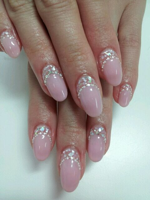 Oh-so-pretty nails! Great for hiding nail growth under acrylics or gels between mani's!