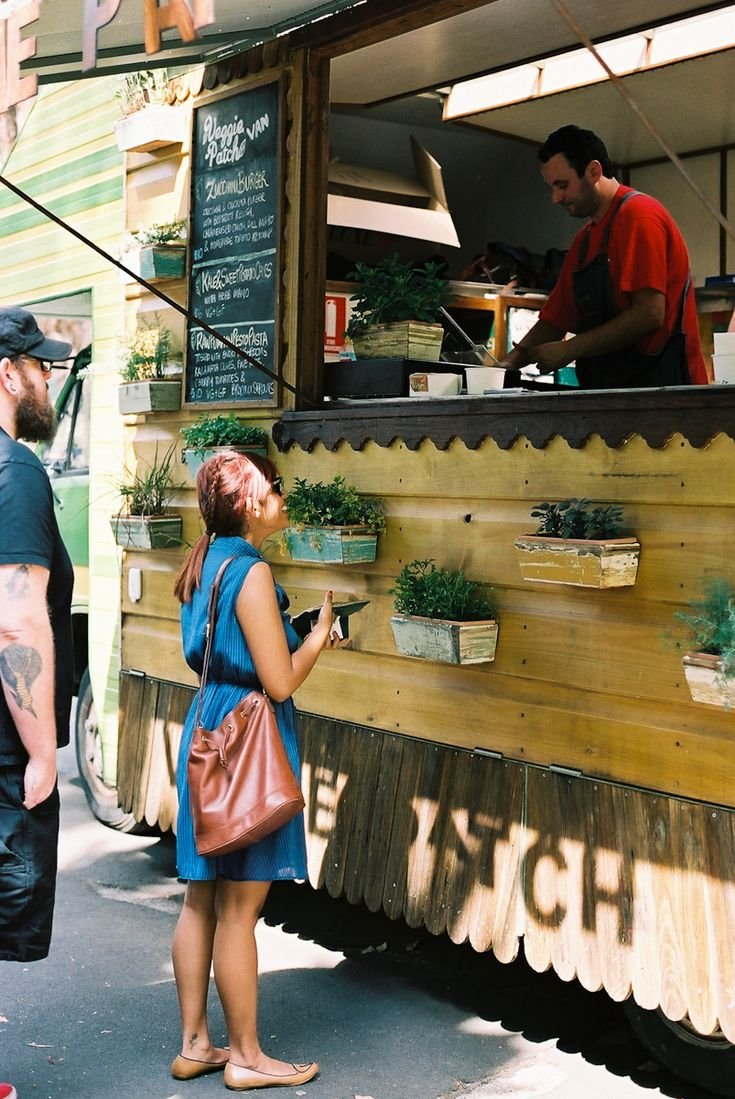 Veggie Patch Van, roving cafe | photo by Elize Strydom    or maybe i should just have a tiny food truck. nahhh