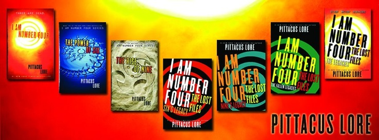 I am number 4 the power of six book