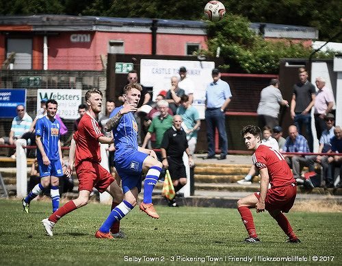 Selby Town 2 - 3 Pickering Town | Friendly | 8Jul17 https://www.flickr.com/photos/cliffefc/sets/72157686051917645 via cliffefc.com