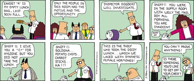 Dilbert Classics by Scott Adams for Dec 24, 2017 | Read Comic Strips at GoComics.com