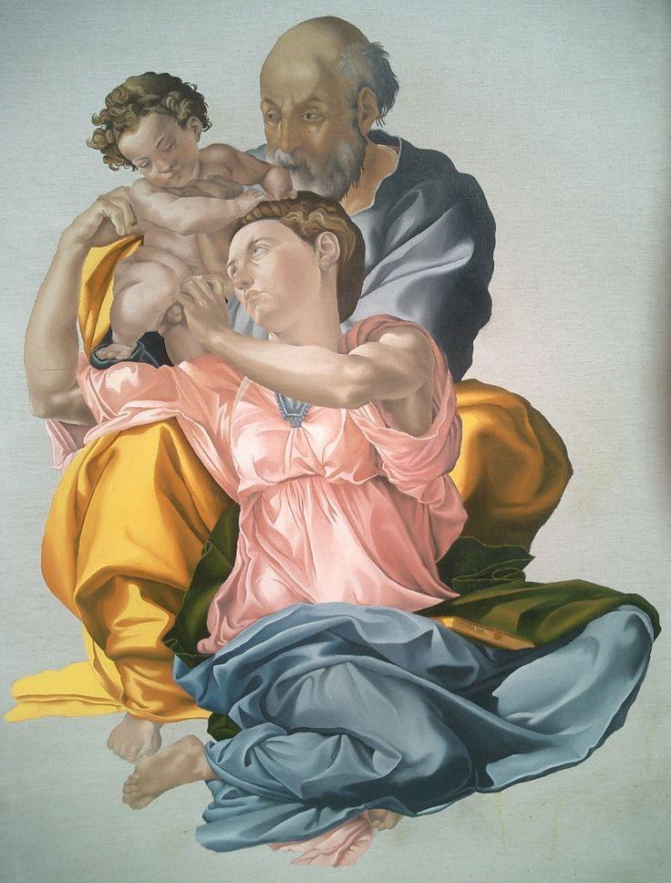 Michelangelo, Tondo Doni, 1503-04