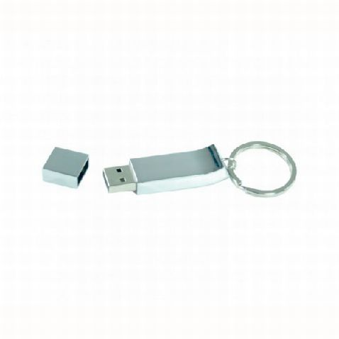 CHROME KEYRING FLASH DRIVE – AR240  High quality key-ring, Wave design, Grade A memory, 10 Year warranty on data retention, 1 year replacement warranty on faulty manufacture.#USB #metal flash drive