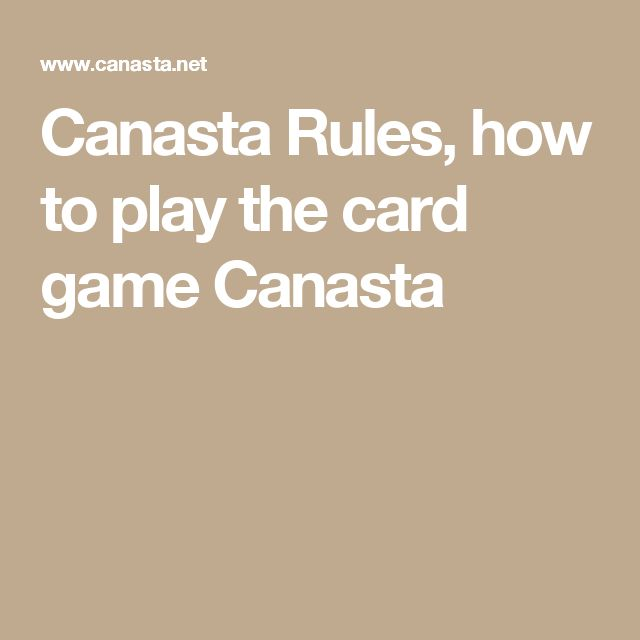 The 25+ Best Canasta Card Game Ideas On Pinterest