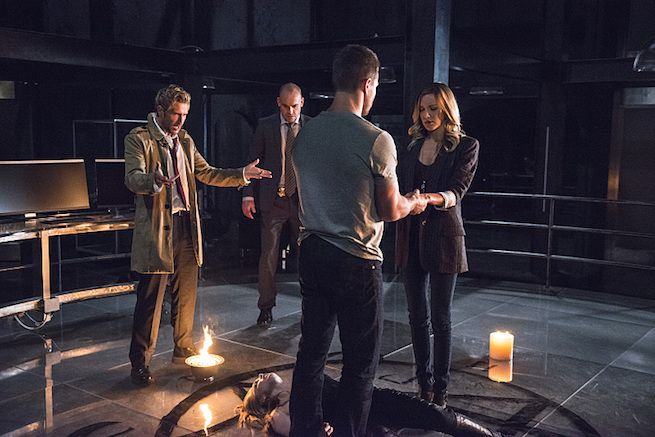 This Arrow Episode Is Filled with Magic, and John Constantine Is Just One Part of It