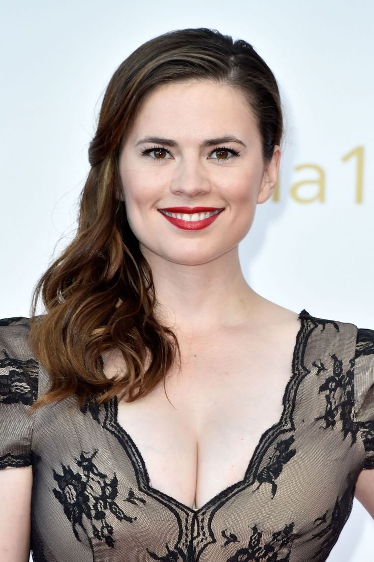 Hayley Atwell attends the closing ceremonies at 55th Monte Carlo TV Festival