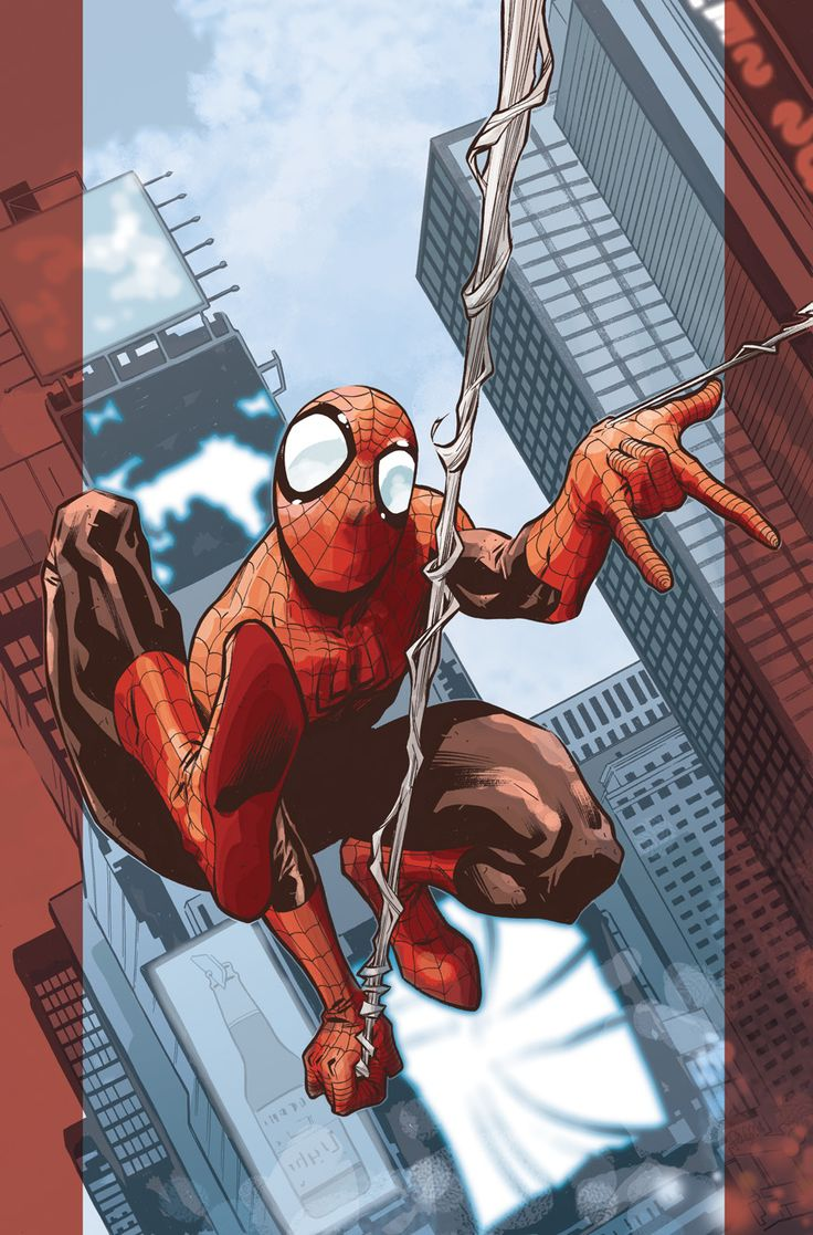 Ultimate Spider-Man cover for Marvel Italia by LaraW on deviantART