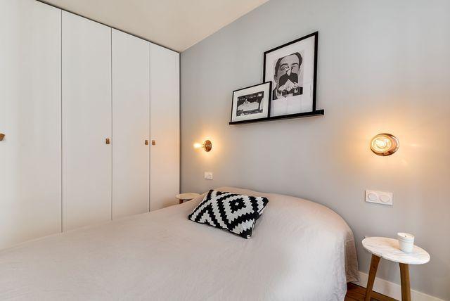 Chambre à coucher lumineuse