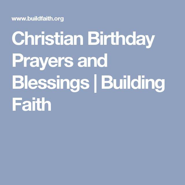 Christian Birthday Prayers and Blessings | Building Faith