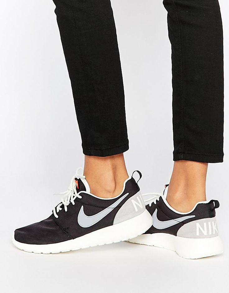 Nike | Nike Black Retro Roshe One Trainers at ASOS