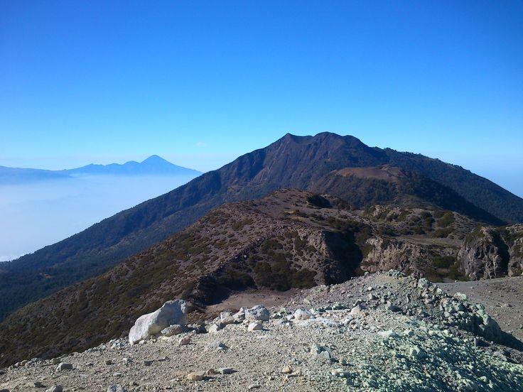 Arjuno Mt. from Welirang Mt.