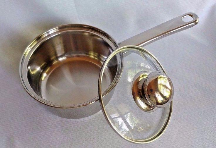 Innova classicor 1 quart stainless saucepan pot induction