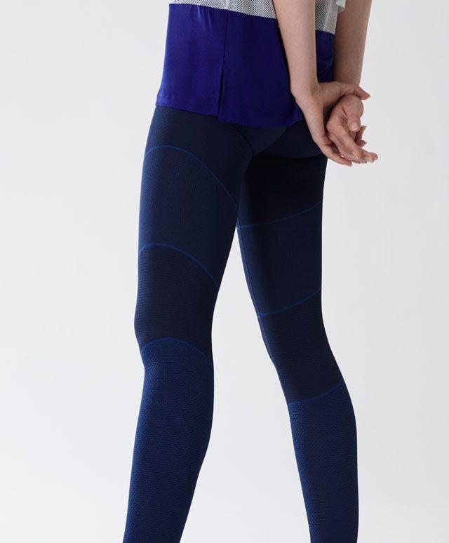 Dikişsiz blok renkli tayt - Yoga - Oysho online mağazada kadın modasında Sonbahar Kış 2016 trendleri. İç çamaşırı, pijamalar, spor giyim, ayakkabılar, aksesuarlar, korseler, plaj giyimi ve mayo & bikiniler. Bütün kadınlar için stiller!