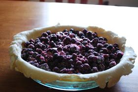 Cooking, baking, and home-making: Black Raspberry Pie