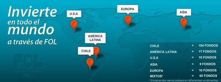 invierte en todo el mundo a través de www.fol.cl