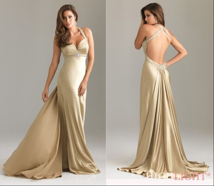 Bond Girl Dress Bond Bond Girl-Gold Bryllup Ideer i 2019-8579