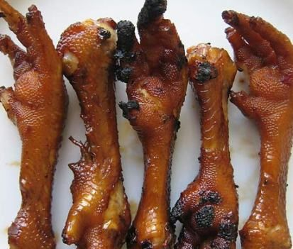 Adidas, or chicken feet. Grilled of course ;)