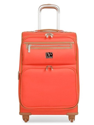 5 Weekend Bags You'll Wanna Grab Now This stylish carry-on bag will leave fellow passengers jealous of your travel duds. Diane von Furstenberg Suitcase, $120, macys.com