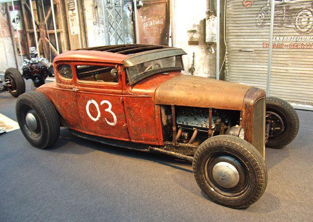 Essen Motor Show 2012: klasické automobily a hot rody