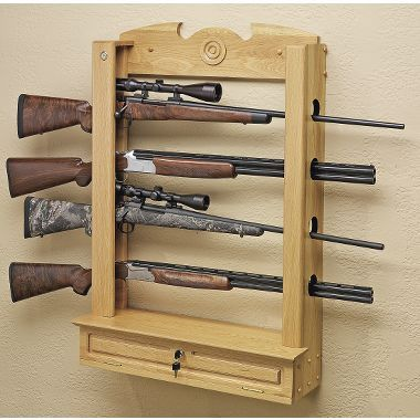 Locking Wall Gun Rack Plans WoodWorking Projects & Plans