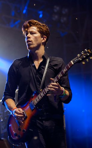 Shaun White of Bad Things performs in Chicago.