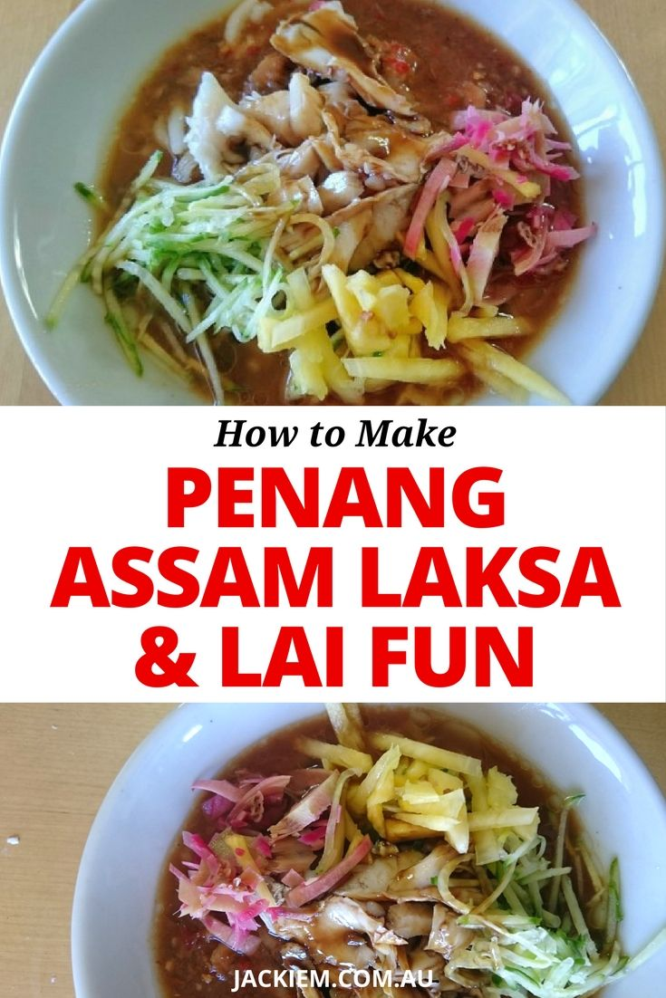 Here's the full recipe and blog post to Jackie M's LIVE Asian Kitchen broadcast featuring How to Make Penang Assam Laksa and Lai Fun aka Rice Spaghetti. forget to follow me at www.JackieM.Live to interact with me during these livestreams.