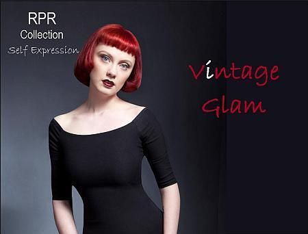 Vintage Glam portrays high shine, smooth finish with vibrant colour