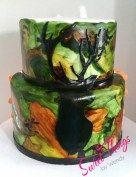 Hunter groomsmen cake - sweetthingsbywendy.ca