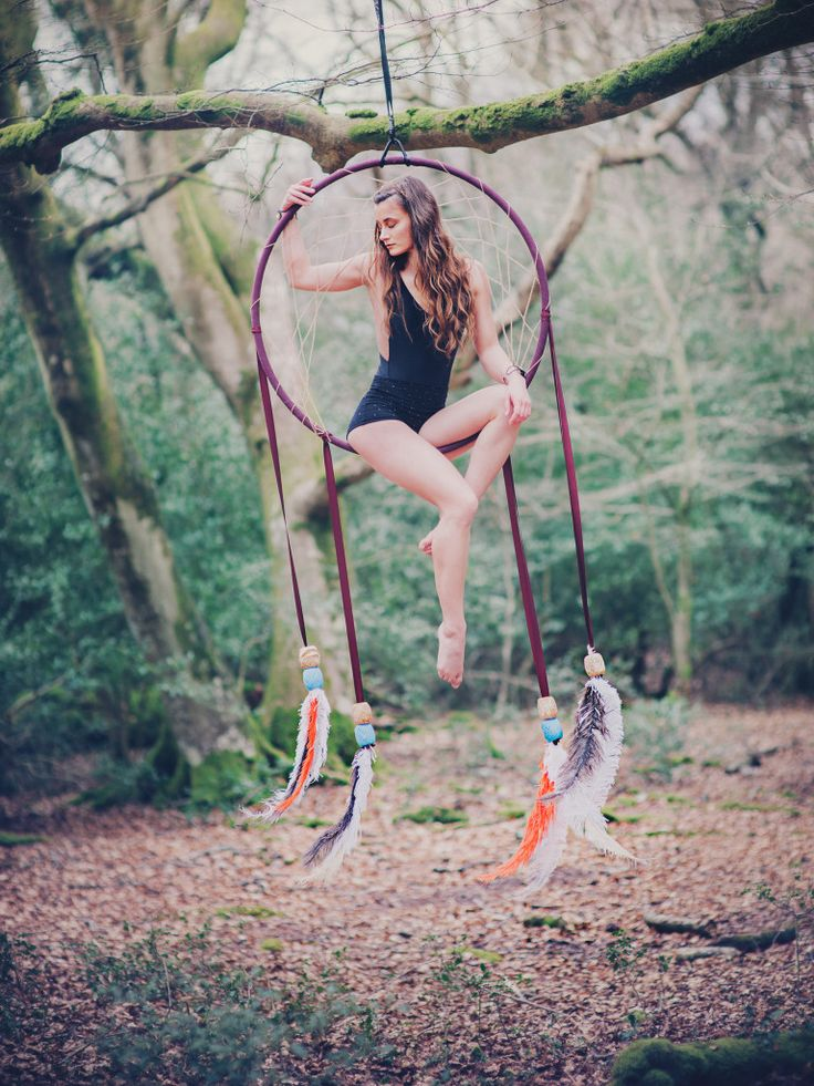 Dreamcatcher Aerial Hoop - Siobhan Johnstone Aerial Acrobat