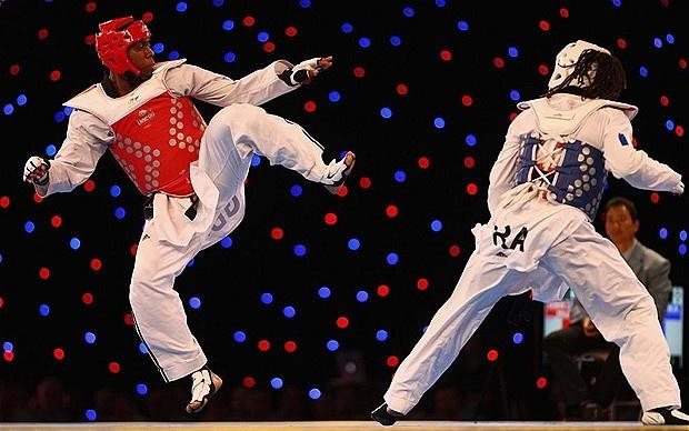 Lutalo Muhammad - Taekwondo