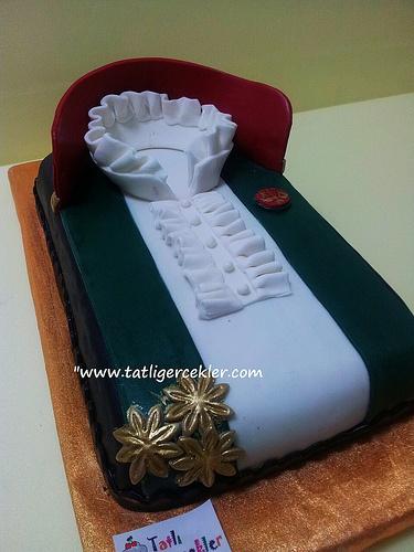 avukat cübbesi pasta - lawyer cake by www.tatligercekler.com