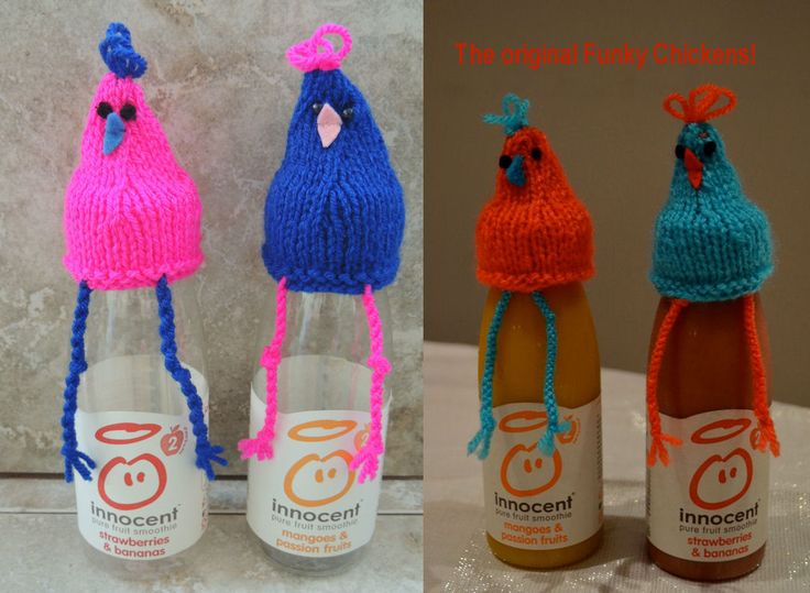 Innocent Smoothies Big Knit Hat Pattern - Funky Chicken ...