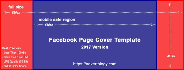 Download and use our Facebook Page Cover Template to ensure your ...