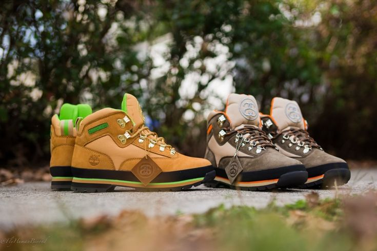 #Stussy x Timberland Euro Hiker #sneakers