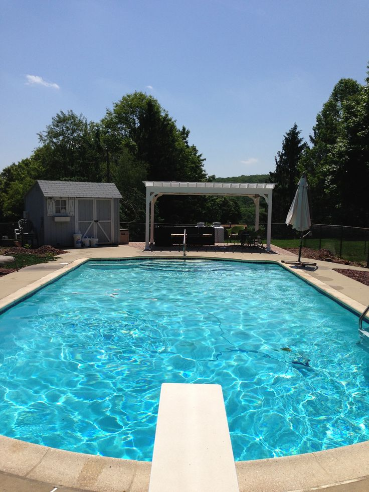 44 Best Images About Inground Pools On Pinterest Stone